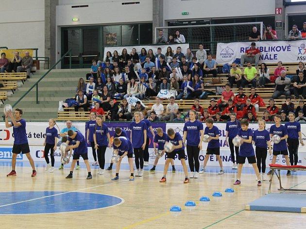 Zahájení florbalového republikového turnaje Sportovní ligy základních škol