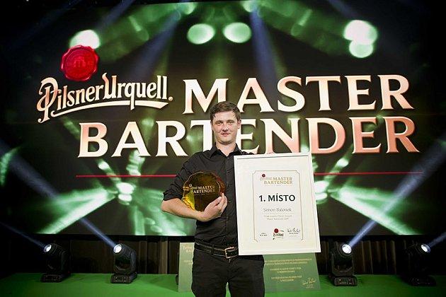 Simon Balonek vítěz soutěže Master Bartender 2019