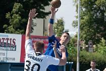 Ze zápasu Nýřany - Podlázky, kterého se hrálo před necelými dvěma týdny.