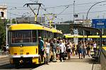 Městská hromadná doprava v Plzni.