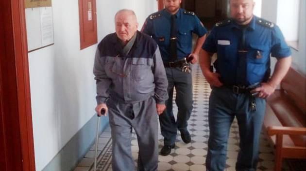 Důchodce stanul před soudem, ten nařídil ochranou léčbu.