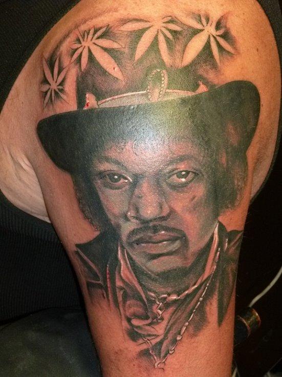 Ukázka tetování od Marka Sýkory