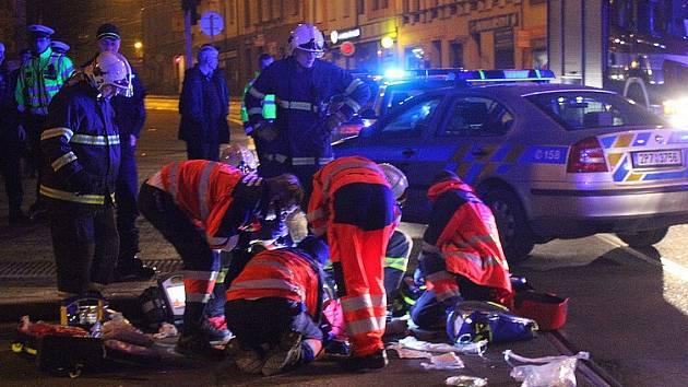 Čtyřiatřicetiletý Ukrajinec nepřežil v sobotu večer pád z mostu Milenia.