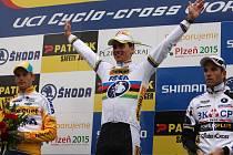 Světový pohár v cyklokrosu v Plzni. V domácím podniku vyhrál Zdeněk Štybar