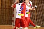 IV. zápas čtvrtfinále play off Chance futsal ligy: SK Interobal Plzeň - SK Slavia Praha 1:6 (0:2), 29. dubna 2016.