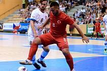 Ve druhém přípravném utkání v Plzni porazila Česká republika Turecko 4:1, 22. června 2016.