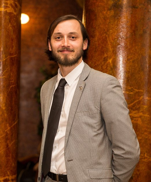 Organizátor Dronfestu Tomáš Cholinský.