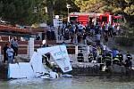 Letadlo se zřítilo ve středisku Resnik u města Trogir.