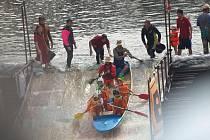 V Plzni se v sobotu uskutečnil dvanáctý ročník Plavby netradičních plavidel.
