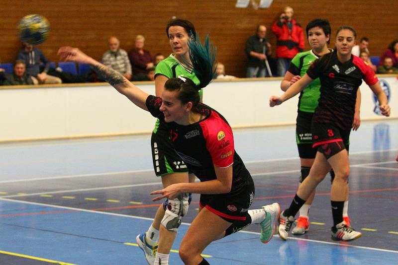 házená ženy 1 liga - DHC Plzeň x HK Ivančice