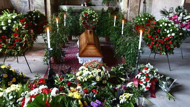 Rozloučení s kněžnou Gariellou z Lobkowicz