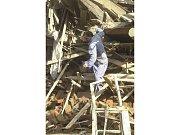 Likvidování následků povodní - 15. srpna 2002