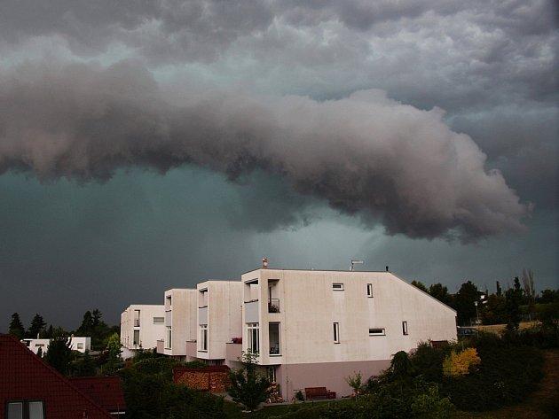 Silné bouře zasáhly Plzeňský kraj.