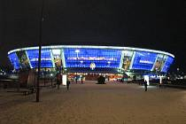 Donbass Arena v Doněcku