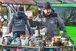 Bleší trh na Slovanech je na Plzeňsku nejznámější