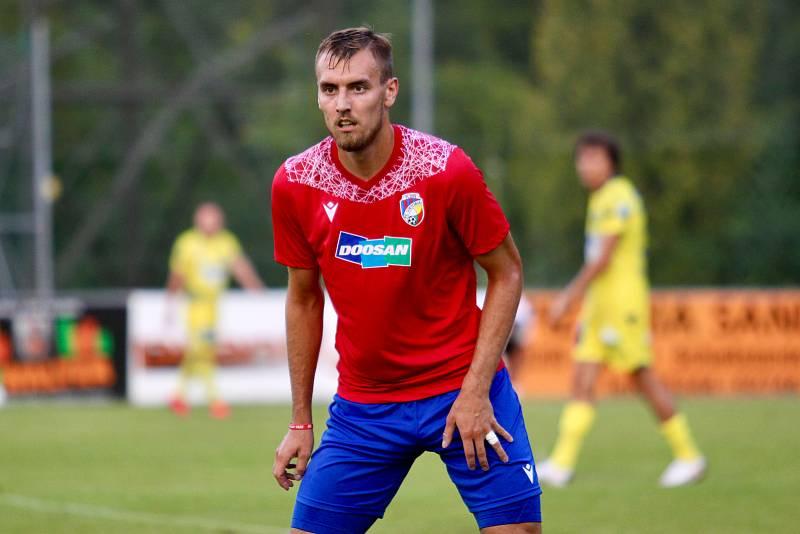 Útočník Plzně Tomáš Chorý.