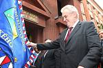 Prezident Miloš Zeman přijel do Plzně