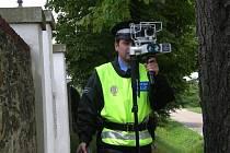 Blovičtí strážníci již začali s novým radarem v Blovicích měřit