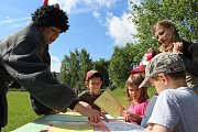 Dětský den na školním hřišti v Blovicích