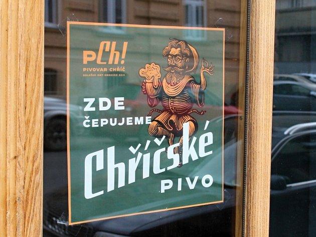 Pivo z Chříče je k dostání v Praze i v Plzni, kde ho nabízí například kavárna Inkognito v Husově ulici.