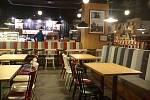 Plzeň - Silvestrovské město po 21 hodině-cross cafee na Náměstí Republiky