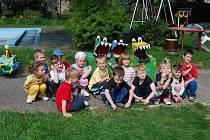 Děti z MŠ ve Starém Plzenci se učily třídit odpad