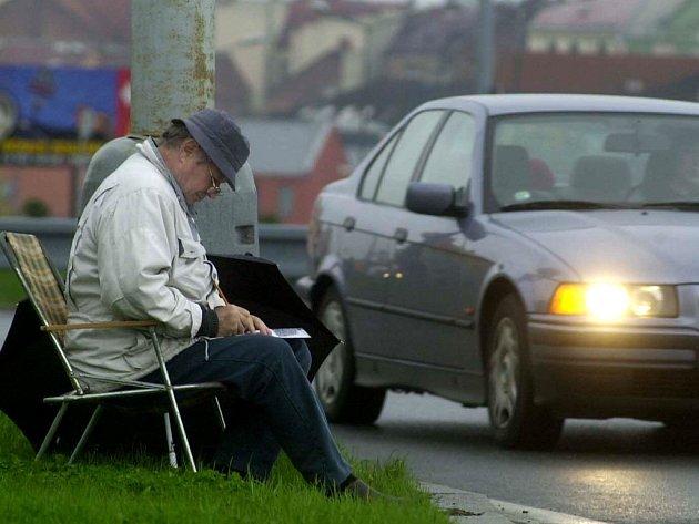 Značky včera zapisovalo 49 lidí. Výsledky dopravního průzkumu by měly být známé na konci měsíce května