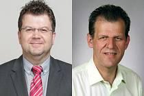 Zleva: Miroslav Lávička, Miroslav Plevný