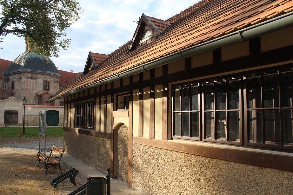 V budově bývalého pivovaru je expozice stavitelství
