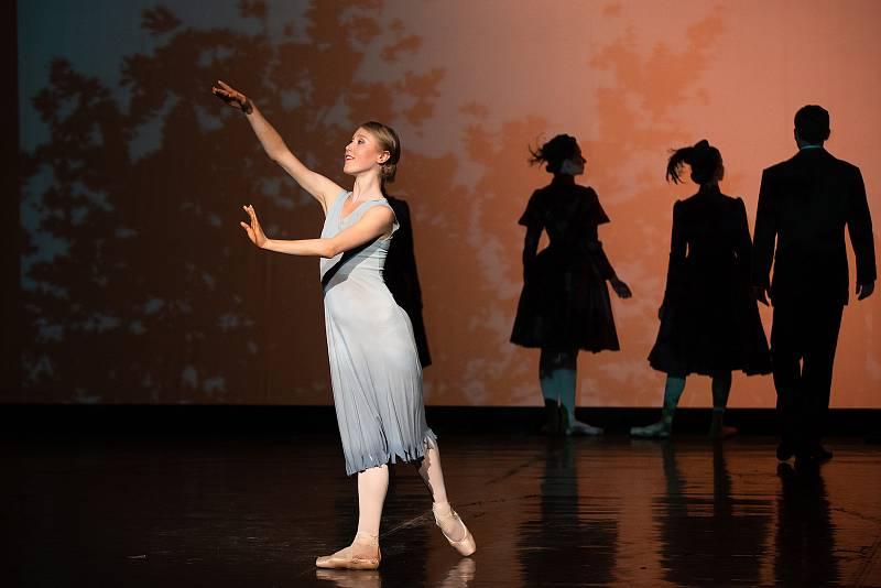 Sara Aurora Antikainen při generální zkoušce baletu Anastázie - poslední dcera cara v Divadle J. K. Tyla v Plzni.