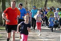 Běh Run For Pro Cit v Borském parku v Plzni
