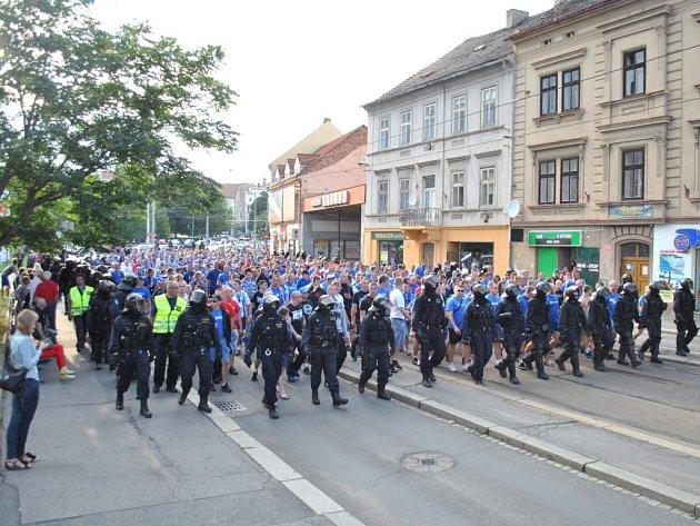 Polský Ruch Chorzow dorazil do Plzně
