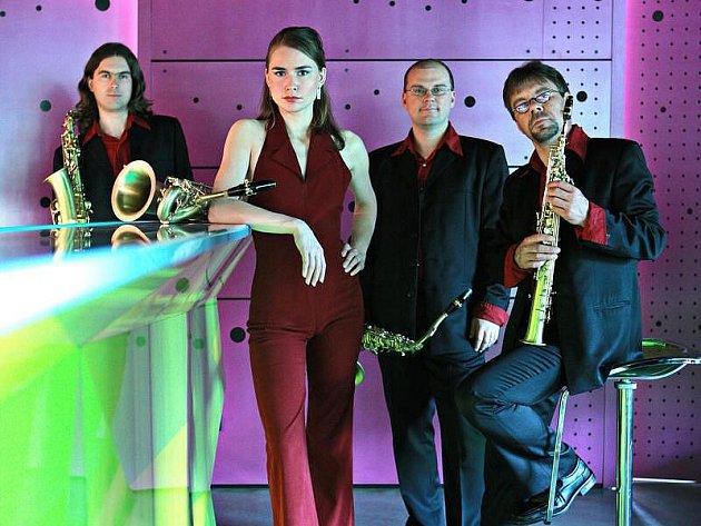 Saxofonové kvarteto Bohemia je jedním ze dvou vynikajících českých kvartet, která dnes vystoupí v evangelickém kostele v plzeňské Němejcově ulici