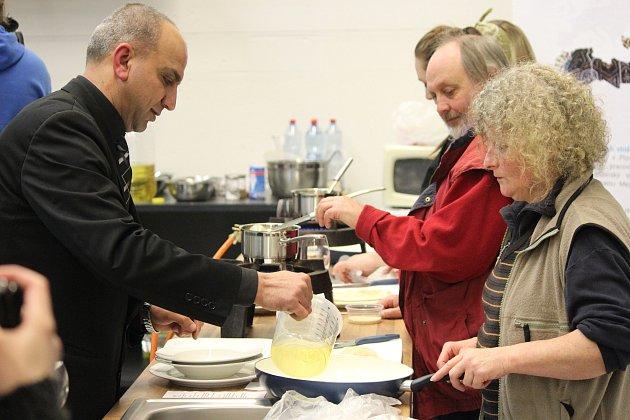 FoodLab: Egypt, kulinářská akce v rámci osmého Arabfestu se konala v pátek v DEPO2015.