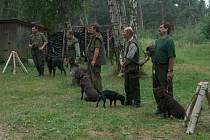 Chlumčanští myslivci poskytují zázemí i pro zkoušky loveckých psů