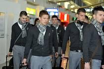 Odlet fotbalistů Viktorie Plzeň do Istanbulu