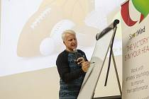 Marian Jelínek byl hlavní osobností semináře zaměřeného na psychologii sportovců. který uspořádal tým Akademie individuálních sportů Plzeňského kraje. Foto: AIS
