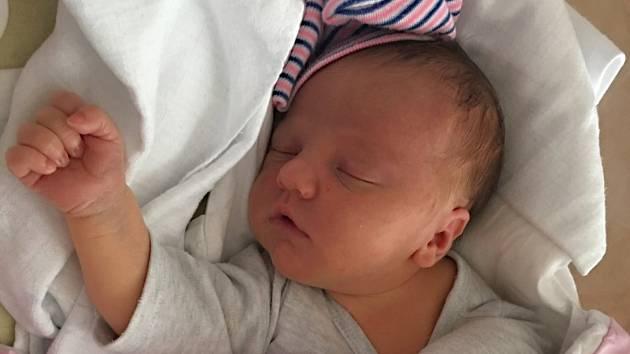 Natálie Kraslová se narodila 11. srpna v 8:03 mamince Magdaléně a tatínkovi Filipovi z Dobříva. Po příchodu na svět ve Fakultní nemocnici v Plzni vážila jejich dcerka 3610 gramů a měřila 51 centimetrů. Doma sestřičku přivítali sourozenci Barča a Vašík.