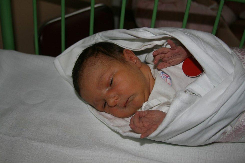 Maminka Eva Frundlová zTřemošné se těší znarození dcery Evy (2,80 kg, 48 cm), která se narodila 29. 8. v8:05 vplzeňské Mulačově nemocnici