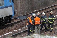 Vlak srazil v Plzni-Doubravce muže