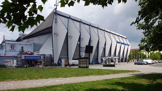 Home Monitoring Arena na Štefánikově náměstí.