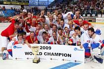Čeští hokejbalisté se po finále mistrovství světa v Plzni mohli opět po jedenácti letech radovat ze zisku titulu mistrů světa.