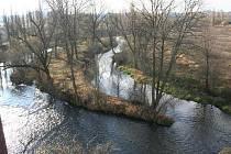 Místo u sv. Jiří, kde se stéká Úslava a Mže, by se mohlo proměnit v parkový prostor s novými cestami pro pěší i cyklisty