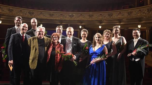Snímek z loňského operního gala kanadských pěveckých nadějí