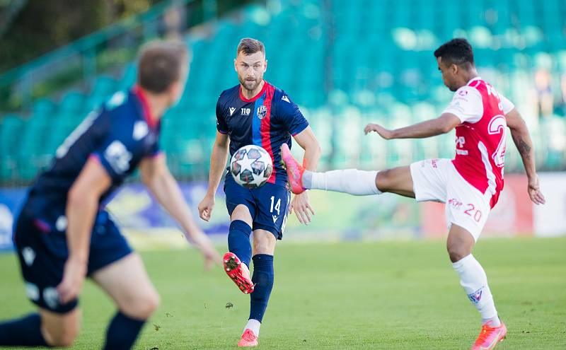 Speciální zápas odehrál v sobotu plzeňský obránce Radim Řezník, nastoupil ke 300. utkání v české lize.