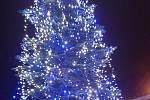 Vánoční strom v Nýřanech
