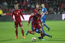 Češi vyhráli nad Islanďany 2:1.