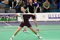 Badmintonisté USK Plzeň budou v nadcházející extraligové sezoně hodně spoléhat mimo jiné na dvojici Jaroslav Sobota –  Josef Rubáš (zleva). Ti jsou totiž úřadujícími mistry České republiky ve čtyřhře mužů