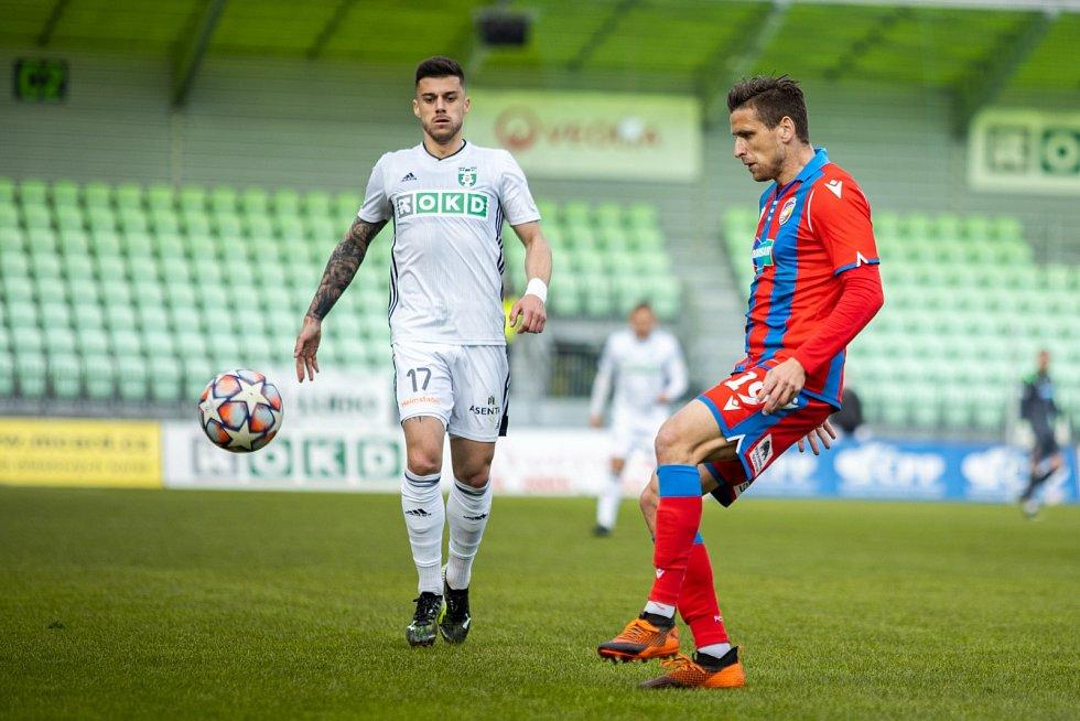 Fotbalisté Viktorie Plzeň ztratili v lize bod remízou v Karviné