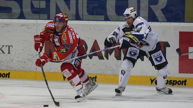 Hokej Plzeň vs. Slavia 2:3 pp